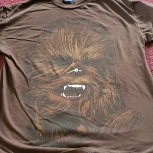 Vintage chewbacca star wars t shirt